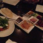 Peking Dukc & Goat Cheese Tart