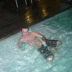 Excelente piscina del spa!!!