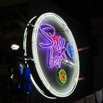 The Silk Bar sign