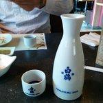 The warm sake