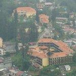 l'hotel vu du Mont Ham Rong