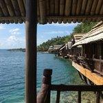 view from samal house 16 private veranda