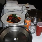 Beef cheeks, in room dining