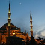 Blick auf die Blaue Moschee 3