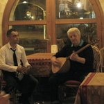 beautiful turkish music by the owner, Çavuş