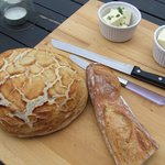 Some bread we made.