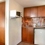 Kitchen in studios & apartments