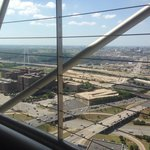 View from reunion tower