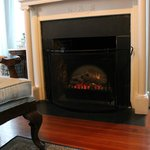 Fireplace in the Menendez Room