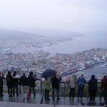 A 1049 ft view of Bergen