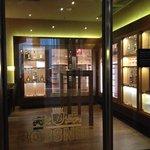 Cigar Lounge off lobby