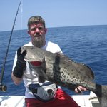 Gag Grouper caught in 280 foot of water.