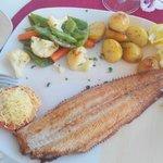 Hauptspeise Seezunge..ohne Gluten und lecker!