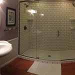 Writers loft double shower!