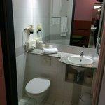 Kleines Duschbad, Einzelzimmer