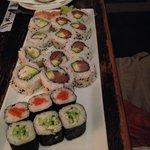 Fabulous array of sushi
