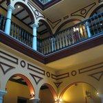 Hotel Itaca courtyard