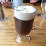 Delish Irish coffee €6
