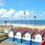 desde la terraza del hotel...la vista es de la praia de alah