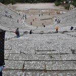 Epidaurus Theater from back row
