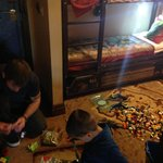 Lego to play with in rooms....kids and parents