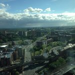 View from Cloud 23, Hilton Hotel Manchester.