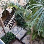 Inside the lovely courtyard houses