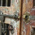 Beautiful door handle with secure entry code