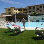 piscina acqua 39 dedicata ospiti hotel