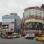 Ximending just next to hotel