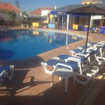 Algarves deepest pool and sunbeds. Free use to all coustomers