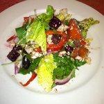 Fresh roasted beet salad