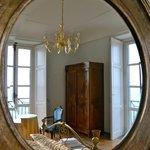 Residenza -Angolo di una camera da letto- doppi balconcini
