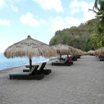 Anse Chastanet loungers