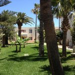 Jardin a l arrière de notre terrasse zone premium