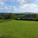 View of Cornwall across the Tamar valley from sitting room