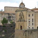 Vista de antigua Iglesia anexa al convento