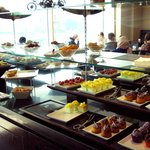 VIP Lounge breakfast