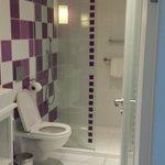 Nice sized bathroom, lovely shower
