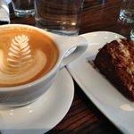 Fair Trade Coffee and Cake