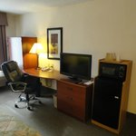 Large work area in every room