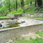 original Lord Fairfax spring bath