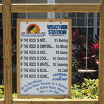 COMICAL WEATHER STATION