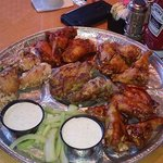 wing special-25 in 5 sauces