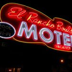 El Rancho Boulder Neon Sign