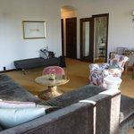Wohnzimmer in Suite