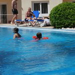 ..poolside
