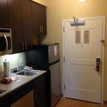 nice kitchen area