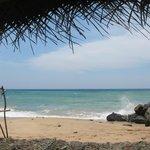 Im Liegestuhl am Strand vor der Haustür