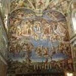 frescos de Miguel Angel